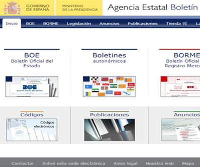 Becas y Ayudas del Boletín Oficial del Estado, BOE.